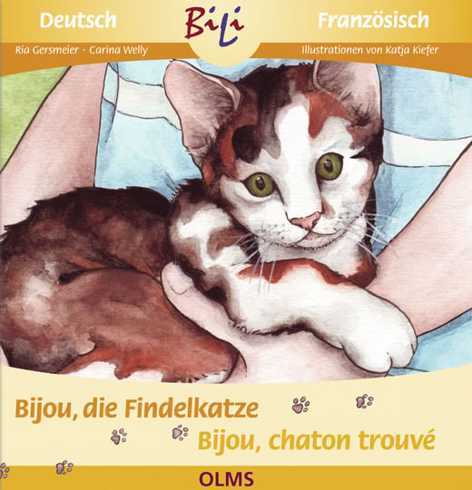 Bijou, die Findelkatze /Bijou, la petite chatte...
