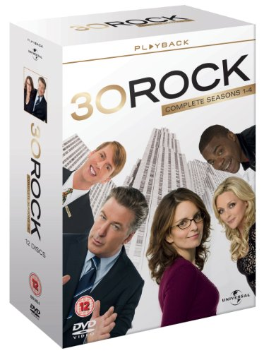 30 Rock Series 1-4 - Complete [12 DVDs] [UK Import]