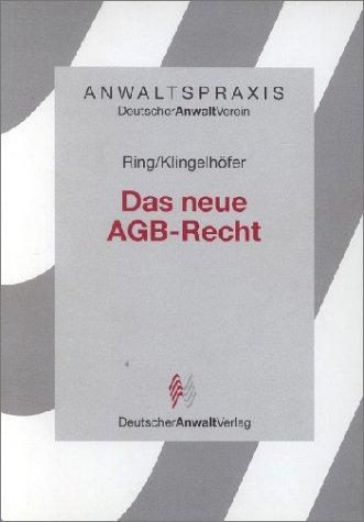 Das neue AGB-Recht - Gerhard Ring