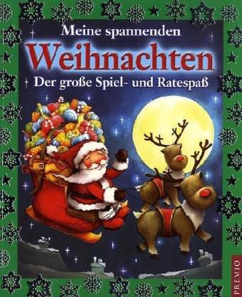 Meine spannenden Weihnachten: Der große Spiel- und Ratespaß