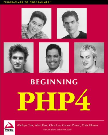 Beginning PHP 4 - Dave W. Mercer