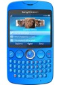 Sony Ericsson txt blau