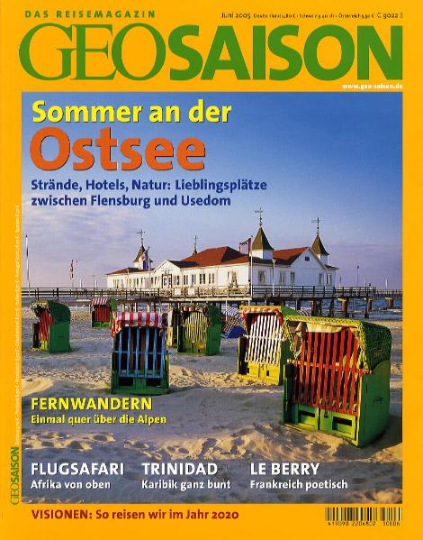 Geo Saison Sommer an der Ostsee: Strände, Hotel...