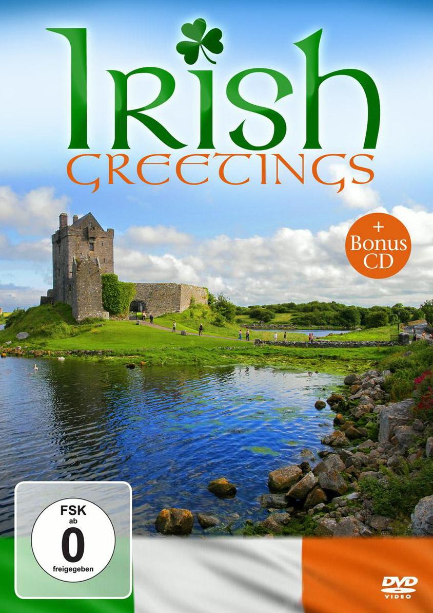 Various Artists - Irish Greetings (+ Audio-CD, NTSC)