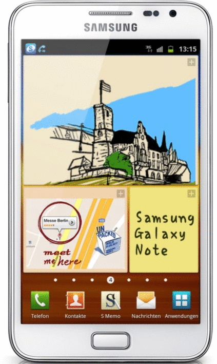 Samsung N7000 Galaxy Note 16GB wit