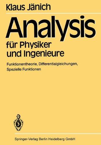 Analysis für Physiker und Ingenieure: Funktione...