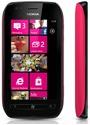 Nokia Lumia 710 schwarz fuchsia