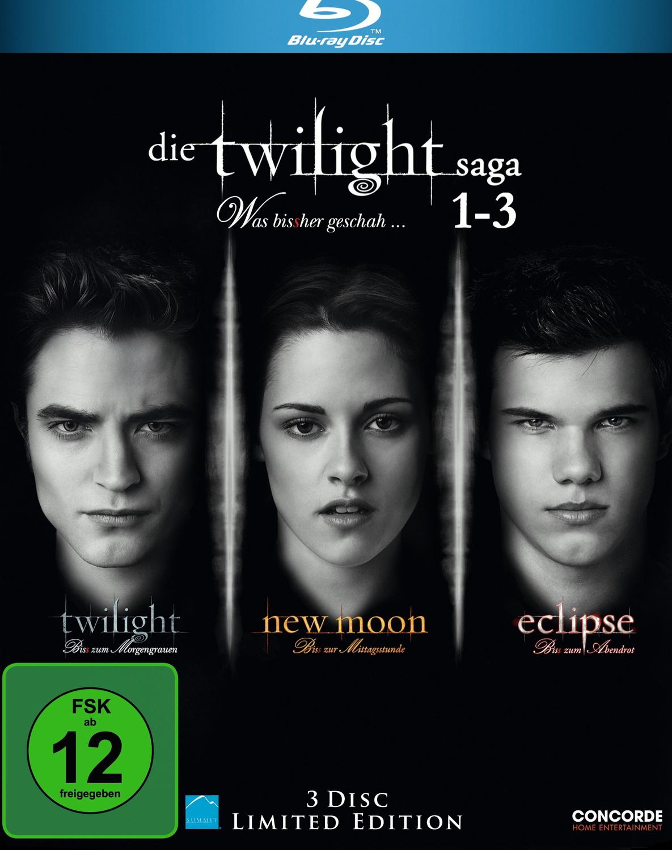 Die Twilight Saga 1-3 [3-Disc Limited Edition]
