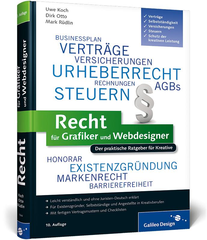 Recht für Grafiker und Webdesigner: Der praktis...