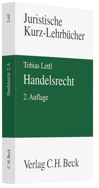 Handelsrecht - Tobias Lettl
