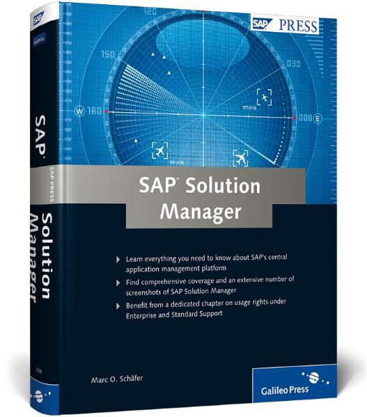 SAP Solution Manager (SAP PRESS: englisch) - Ma...