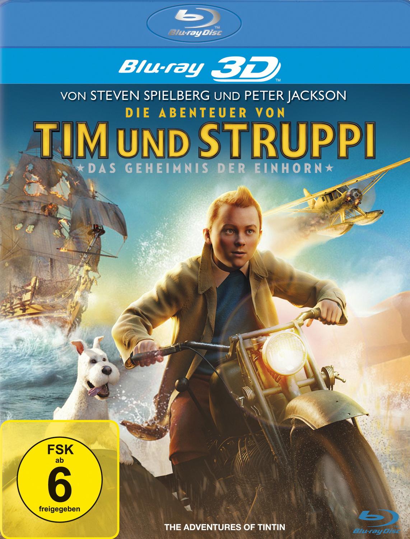 Die Abenteuer von Tim & Struppi - Das Geheimnis der Einhorn [3D Blu-ray]