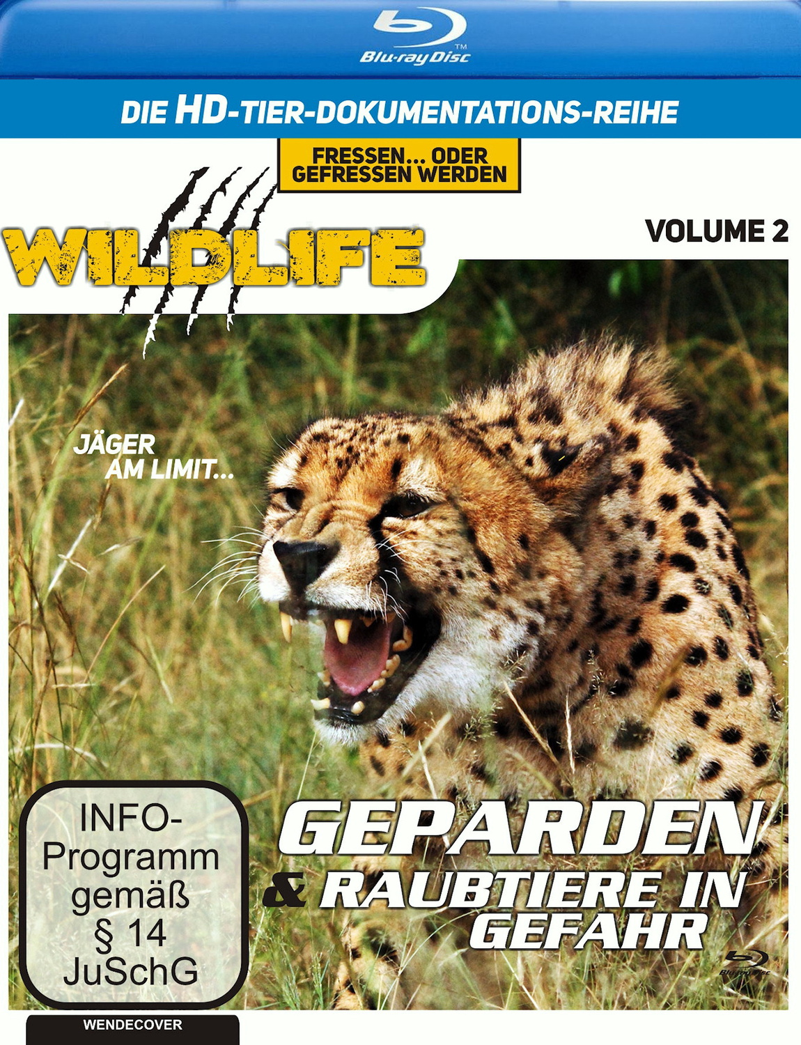 Wildlife 2-Geparden&Raubtiere in Gefahr (Blu-ray)