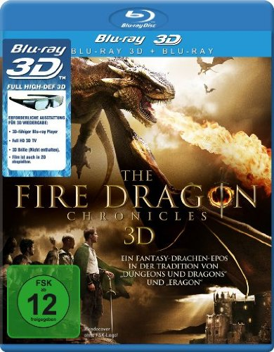 The Fire Dragon Chronicles [3D Blu-ray]