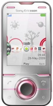Sony Ericsson Yari metal rose