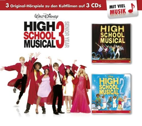 Walt Disney - High School Musical 3er Box