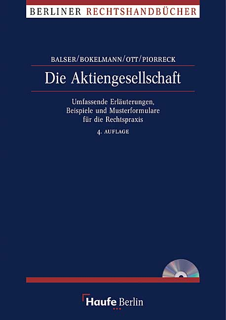 Die Aktiengesellschaft - Heinrich Balser