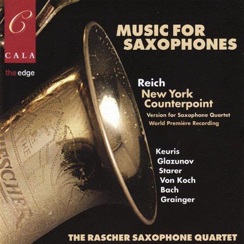 Rascher Saxophone Quartet - Musik für Saxophone