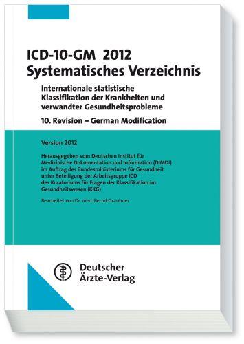 ICD-10-GM 2012 Systematisches Verzeichnis: Inte...