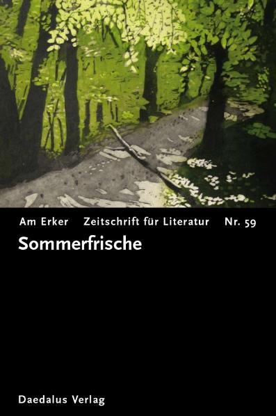 Am Erker, Zeitschrift für Literatur, Nr.59 : So...