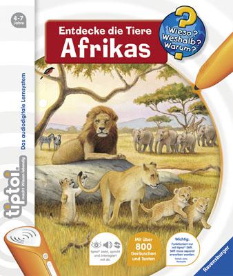 Wieso? Weshalb? Warum?: Entdecke die Tiere Afrikas - Inka Friese [benötigt tiptoi Stift]