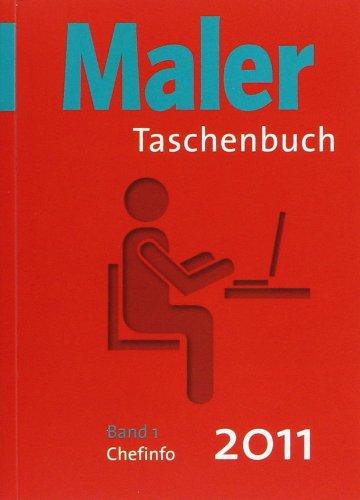 Maler-Taschenbuch 2011 Band 1 und Band 2 als eingeschweißtes Package: Band 1: Chefinfo, Band 2: Baustelleninfo