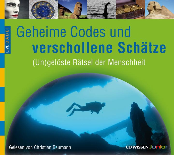 CD WISSEN Junior - Live dabei - Geheime Codes u...