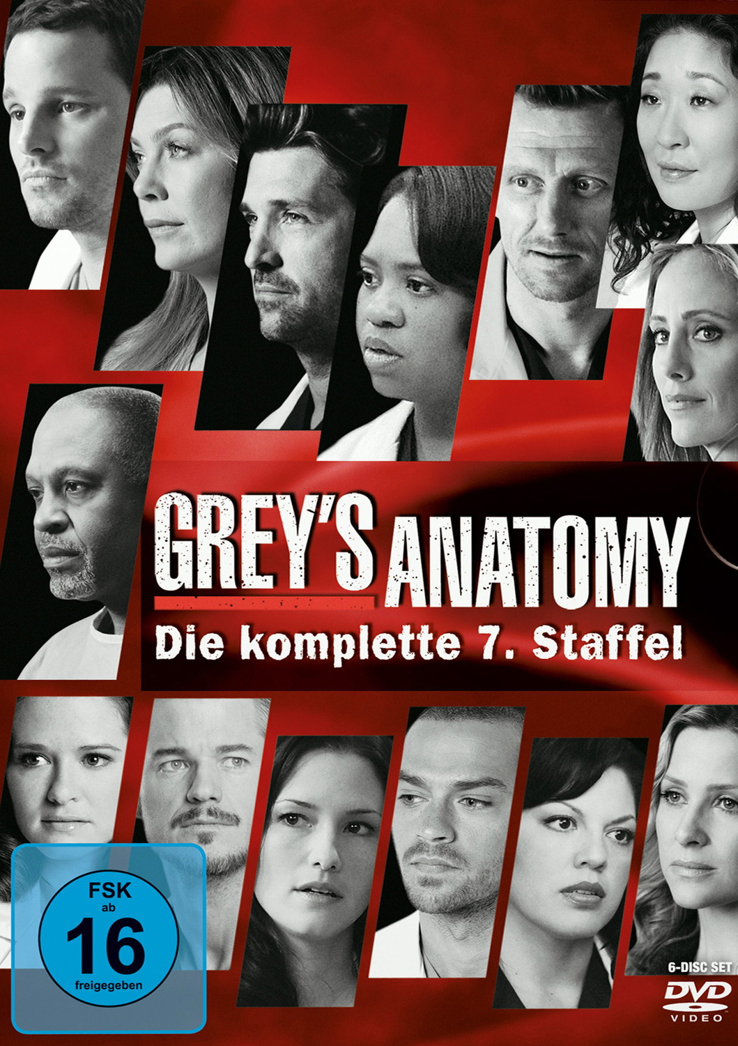 Grey´s Anatomy - Staffel 7 [6 DVDs]