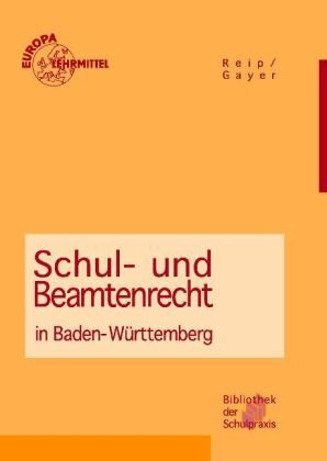 Schul- und Beamtenrecht in Baden-Württemberg - ...