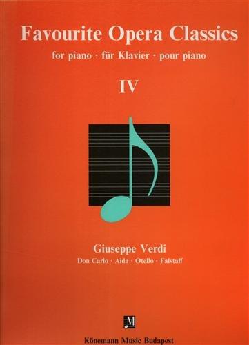 Favourite Opera Classics (Music Scores) - Giuse...