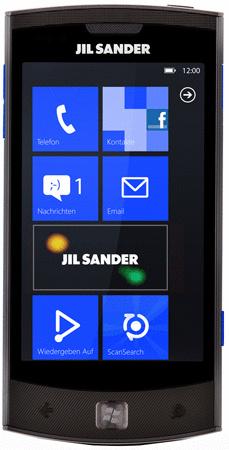 LG E906 [Jil Sander Edition] schwarz