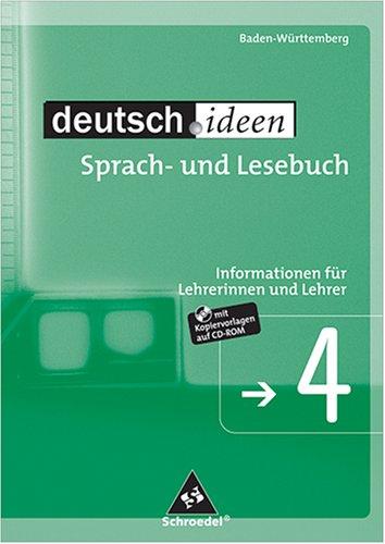 deutsch.ideen - Sprach- und Lesebuch : 4 = Jg.-...