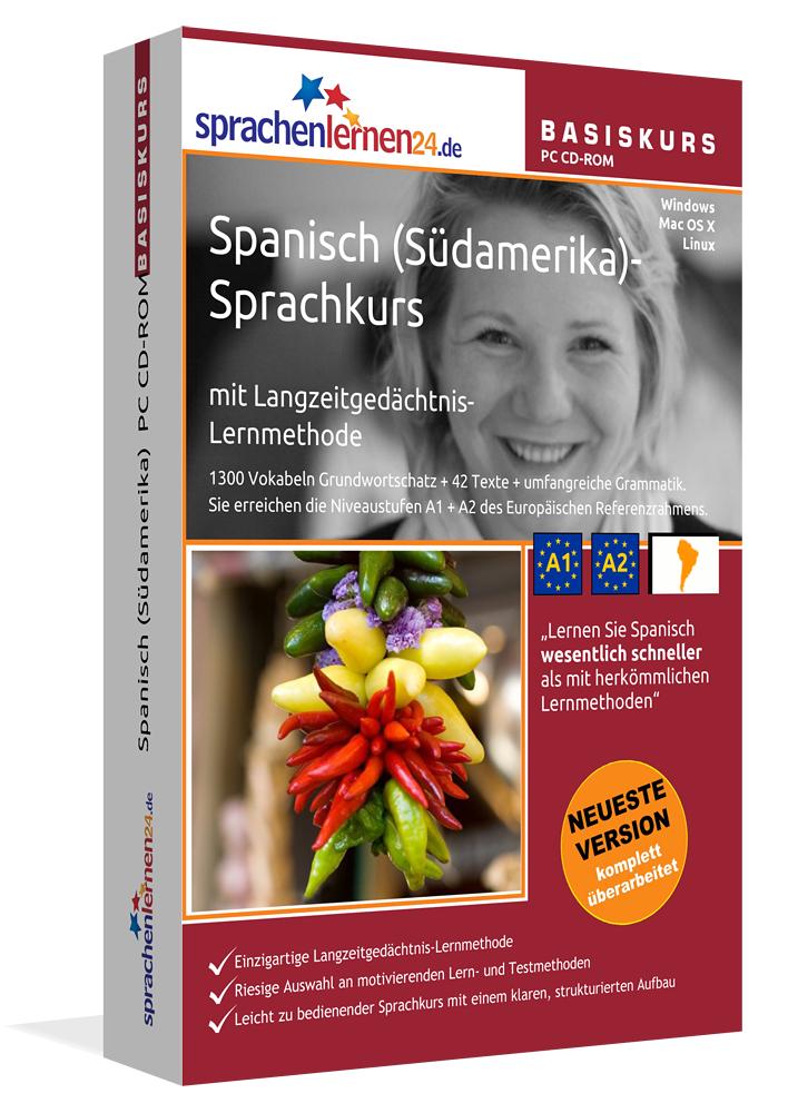 Sprachenlernen24.de Spanisch (Südamerika)-Basis...