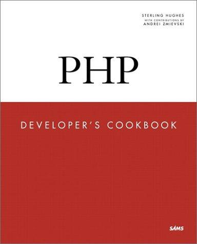 Php Developer´s Cookbook - Sterling Hughes