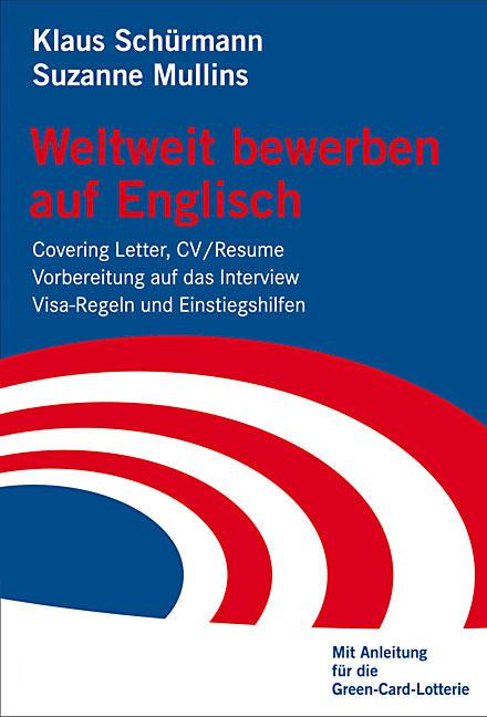 Weltweit bewerben auf Englisch: Covering Letter...