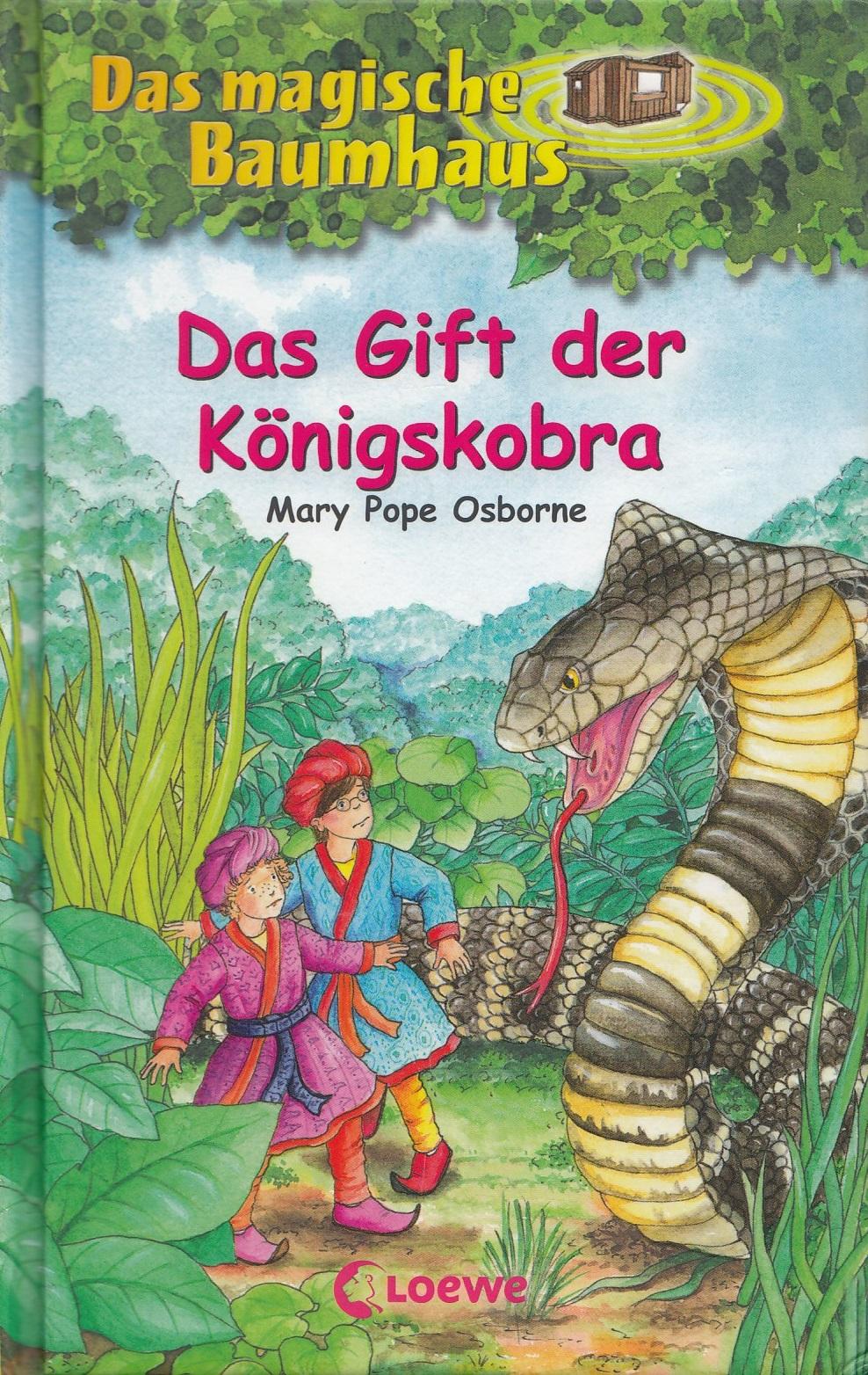 Das Gift der Königskobra - Mary Pope Osborne