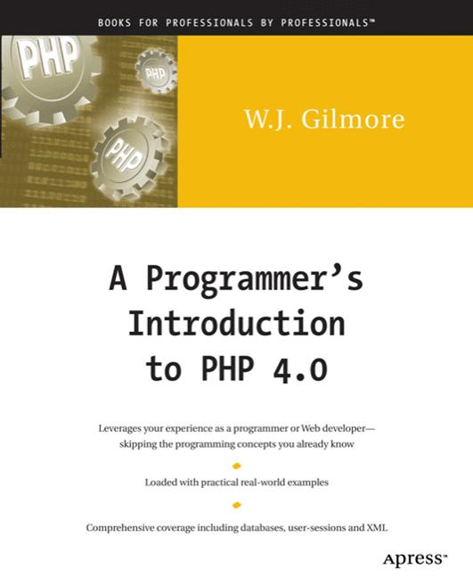 A Programmer´s Introduction to PHP 4.0 - W. J. ...