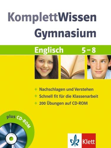 Komplett-Wissen Gymnasium. Englisch 5. - 8. Sch...