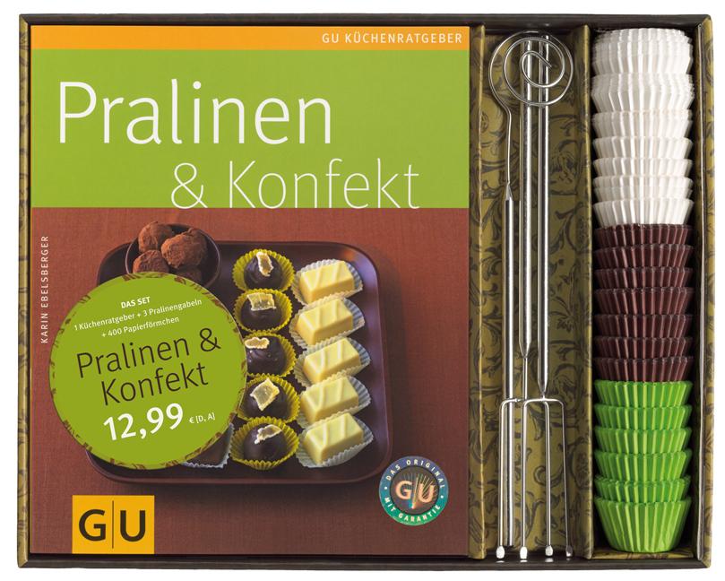 Pralinen-Set: Pralinen und Konfekt - Karin Ebel...