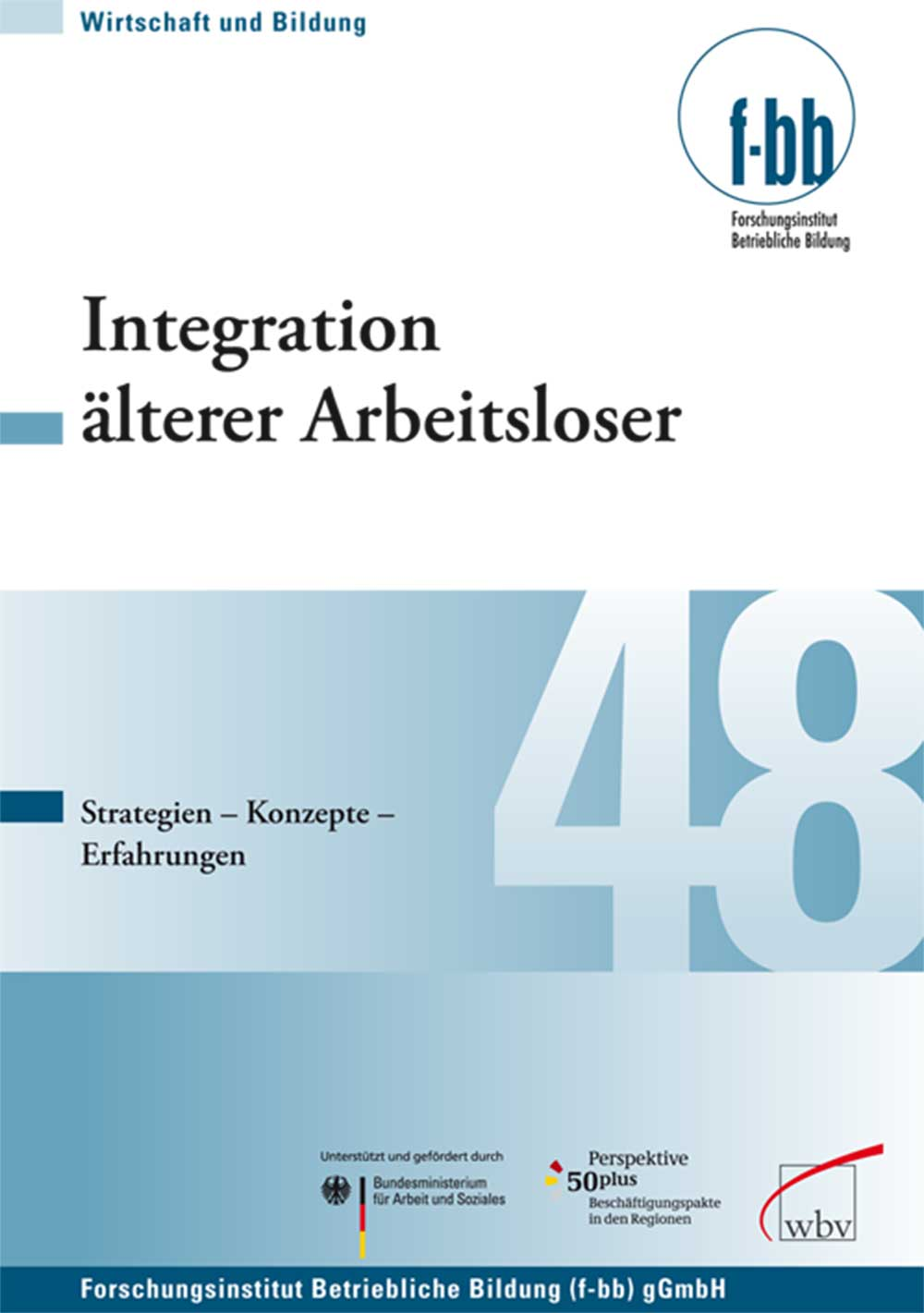 Integration älterer Arbeitsloser: Strategien - ...