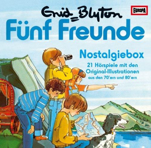 Fünf Freunde - Nostalgiebox: 21 Hörspiele mit den Original-Illustrationen aus den 70´ern & 80 ´ern