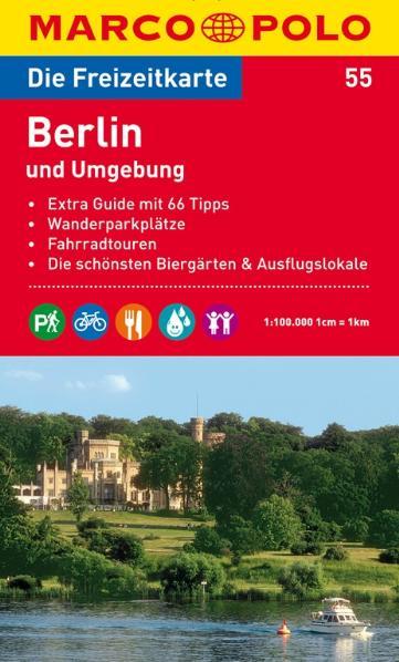Marco Polo: Freizeitkarte Berlin und Umgebung [Landkarte]