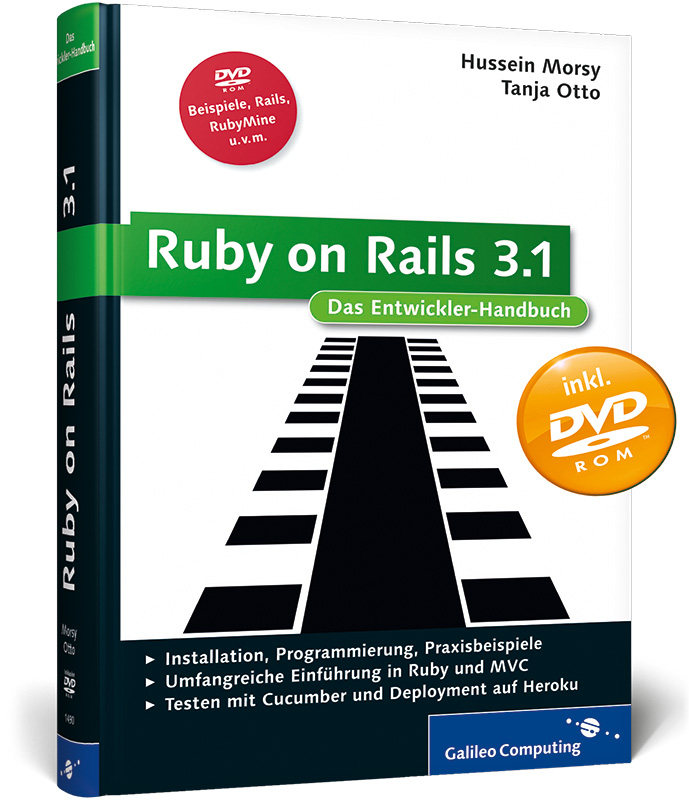 Ruby on Rails 3.1: Installation, Programmierung...