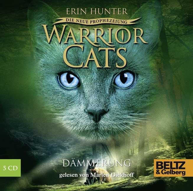 Warrior Cats - Staffel 2: Die neue Prophezeiung - Band 5 - Dämmerung - Erin Hunter [5 Audio CDs]
