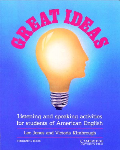 Great Ideas Student´s Book: Listening and Speak...