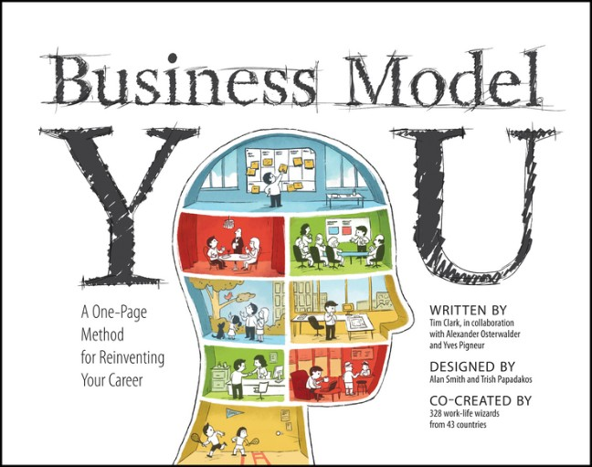 Business Model You: A One-Page Method For Reinventing Your Career - Timothy Clark