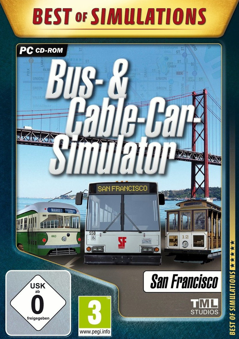 Best of Simulations: Bus- & Cable-Car Simulator