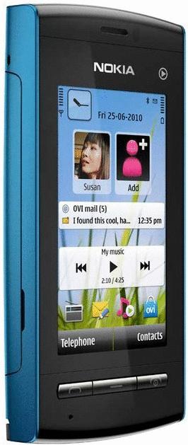 Nokia 5250 blau