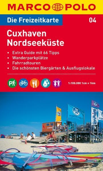 MARCO POLO Freizeitkarte 04 Cuxhaven / Nordseeküste 1 : 100 000