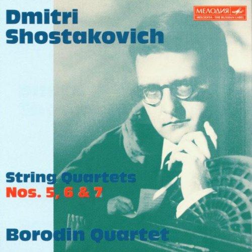 Borodin Quartett - Streichquartette No. 5, 6 & 7
